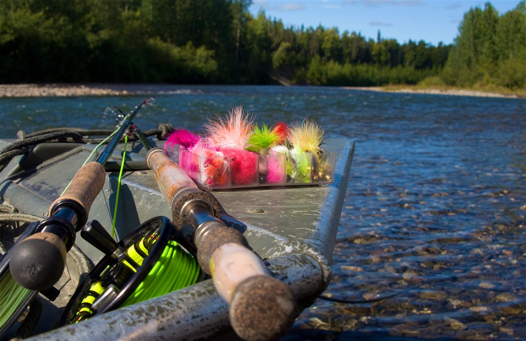 fly fishing and sales both require great preparation and patience
